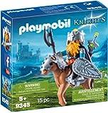 PLAYMOBIL - Dwarf Kingdom: Dwarf Fighter with Pony