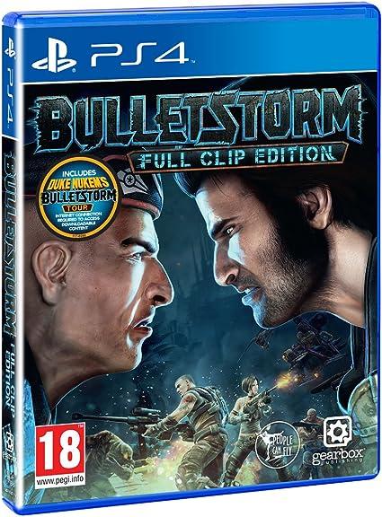 Bulletstorm Full Clip Edition Ps4 Amazon Co Uk Pc Video Games
