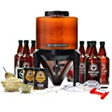 BrewDemon Craft Beer Brewing Kit Signature Pro with Bottles - Conical Fermenter Eliminates Sediment and Makes Great…