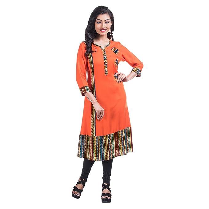 8be20051cd Mamosa Rayon long kurtis for stylish Designer stitched Long Anarkali ...