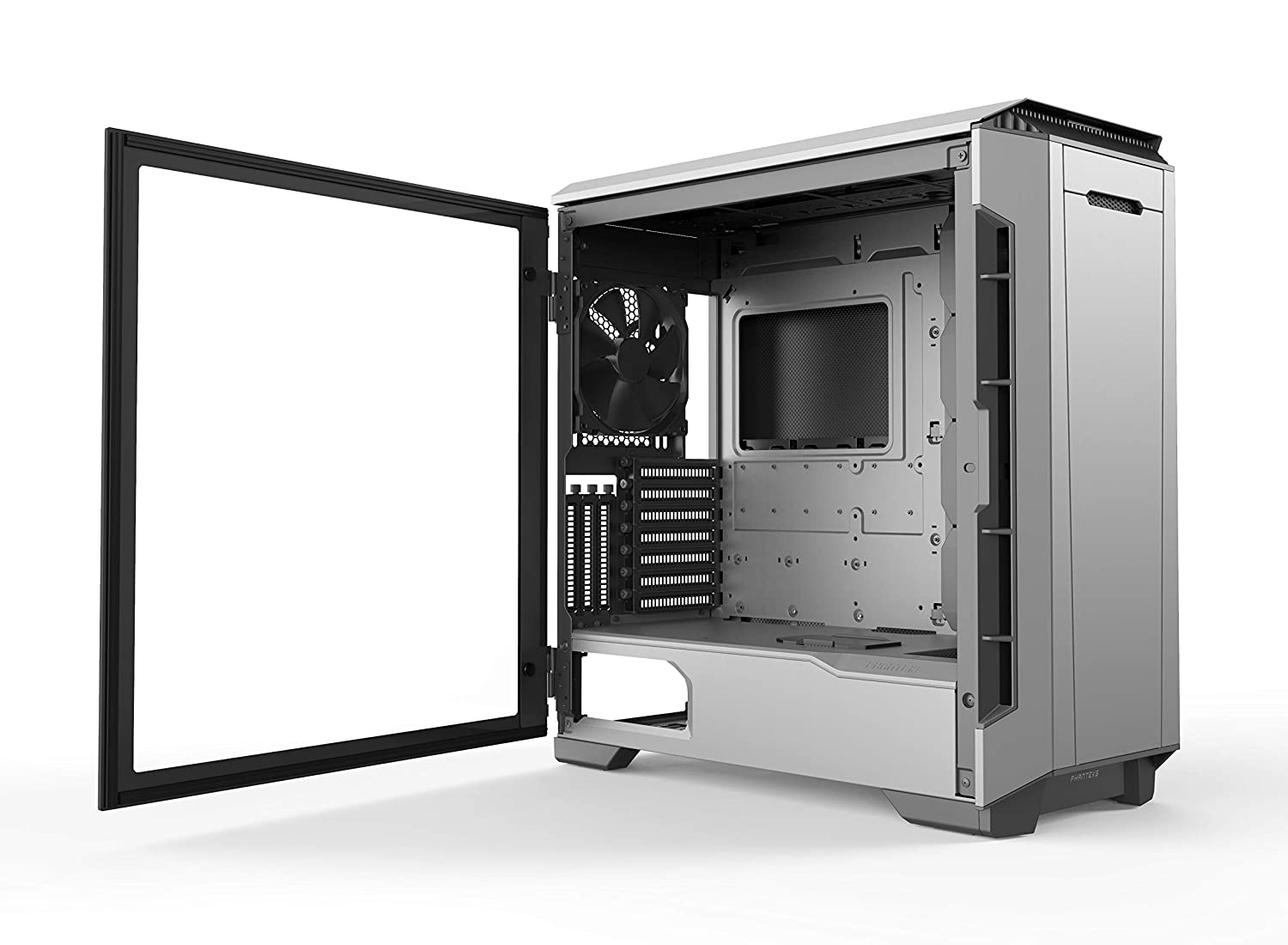 PWM hub Phanteks Eclipse P600S Hybrid Silent and Performance ATX Chassis -Tempered Glass Glacier White Sound dampening Panels Dual System Support Fabric Filter