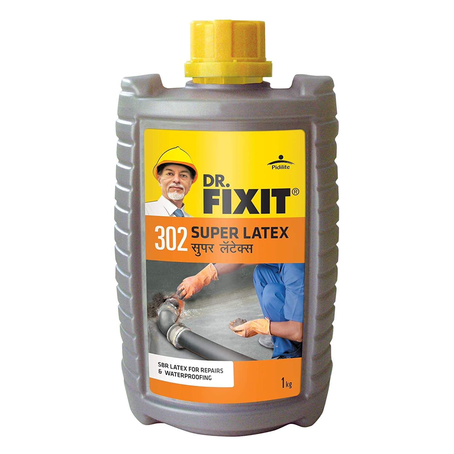 Dr Fixit 302 Super Latex Sbr Latex For Waterproofing Repairs 1kg Amazon In Industrial Scientific