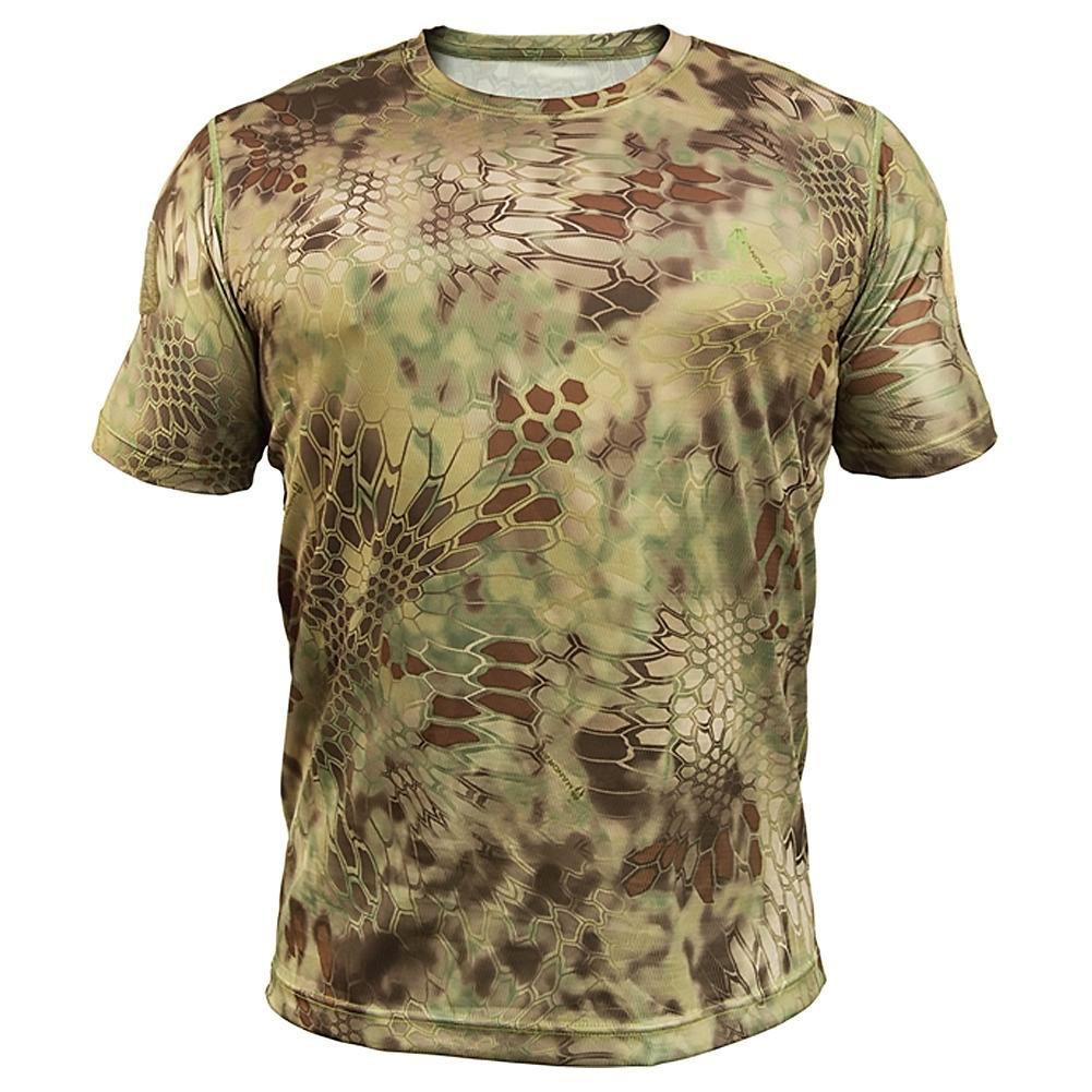 0a3f35b6 Amazon.com : Kryptek Men's Stalker Short-Sleeve Tee - Highlander : Clothing
