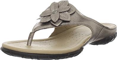 ECCO Women's Groove Flower Thong Sandal