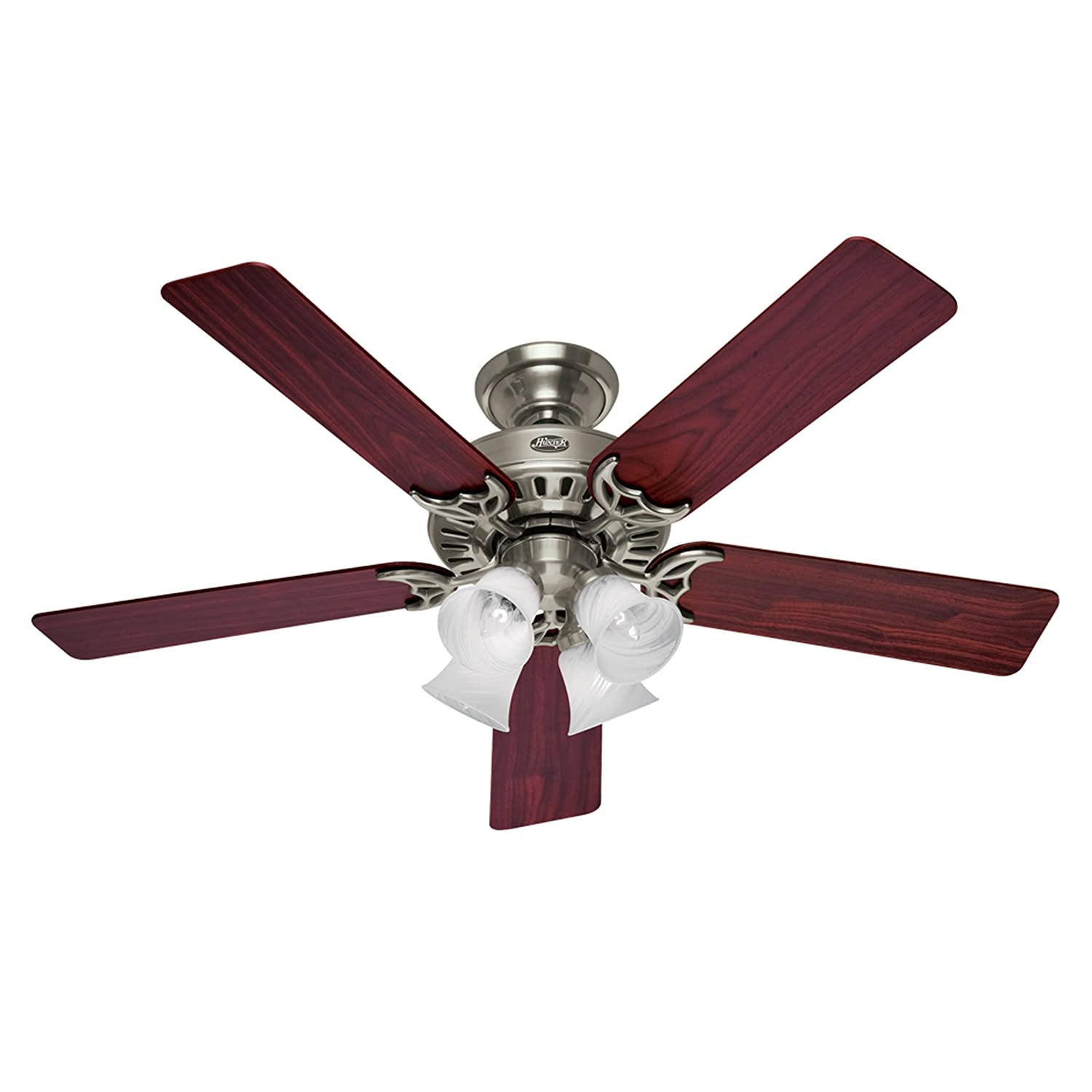 Hunter 52 Inch Studio Series Ceiling Fan Brushed Nickel with