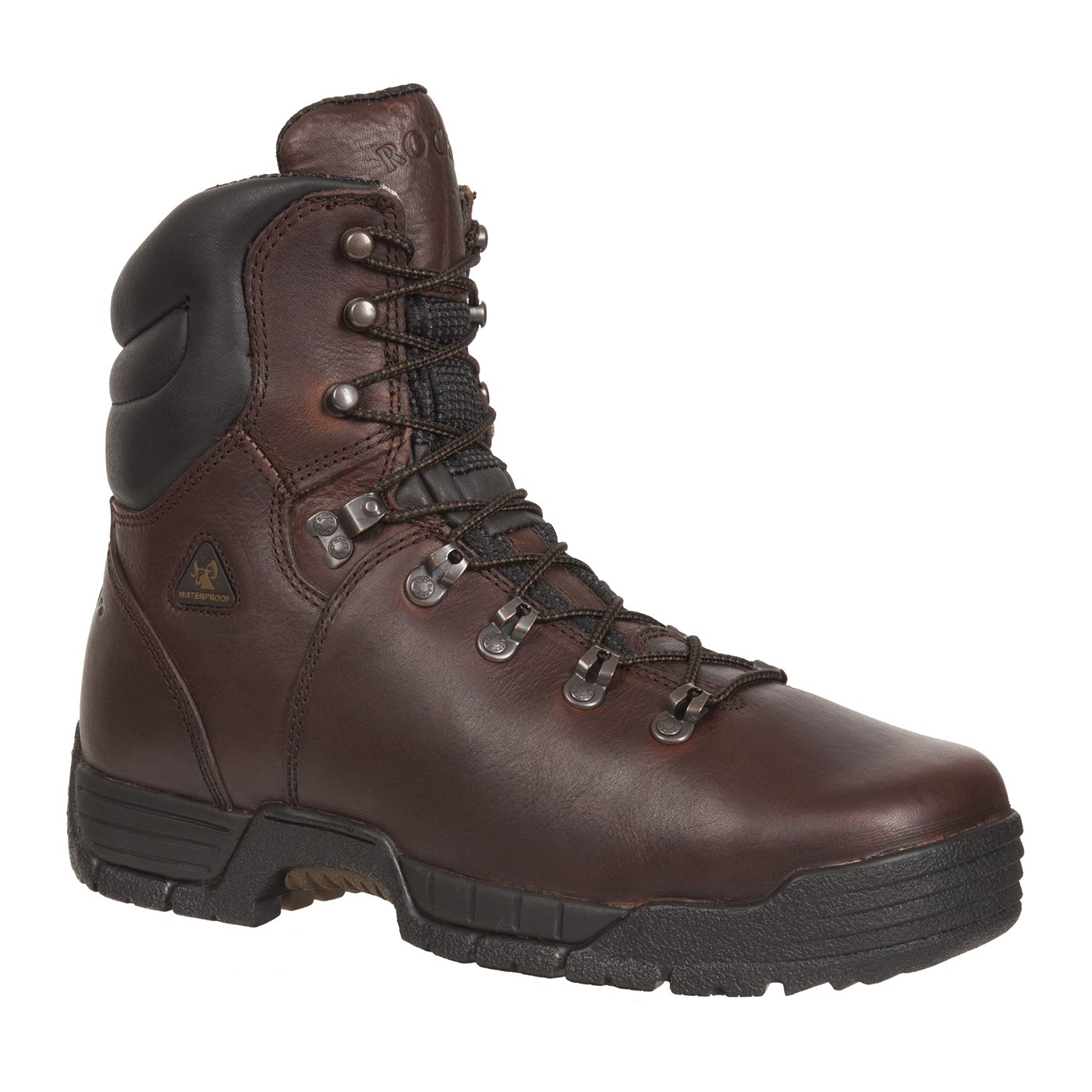 Rocky Mens 8 Mobilite Steel Toe Waterproof Work Boots-6115