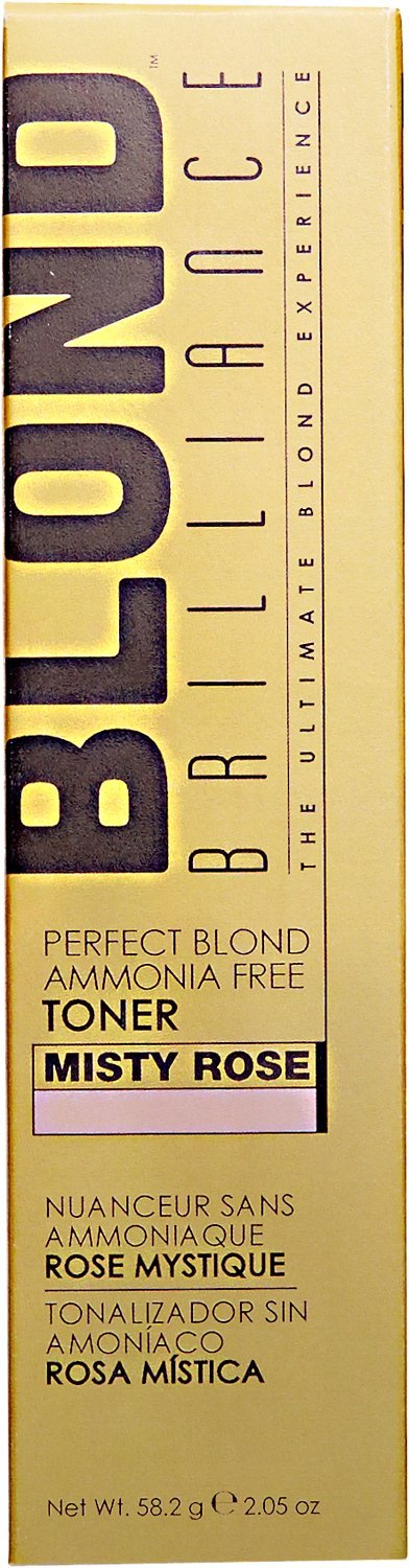 Top Blond Brilliance Misty Rose Perfect Blond Ammonia Free Toner Misty Rose