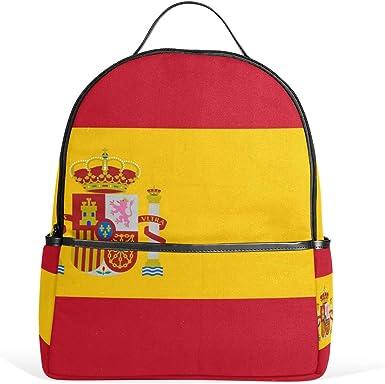DEZIRO - Mochila de senderismo con bandera de España: Amazon.es: Ropa y accesorios