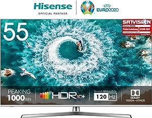 TELEVISOR 55 55U8B STV WiFi UHD ULED LOCALD SUBW HISENSE: Hisense ...