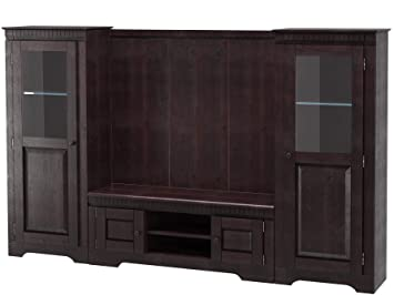 Hochwertig Loft24 Marianne Wohnwand Wohnzimmer Set Komplett Anbauwand Mediawand TV  HiFi Möbel Kolonialstil Holz Kiefer Massiv
