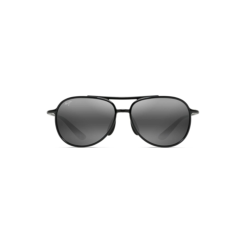 New Unisex Sunglasses Maui Jim Alelele Bridge Polarized 438-02  ブラック B076MHDW1D