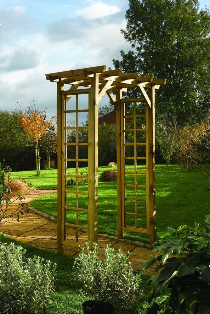Rowlinson Arco para jardín (Cuadrado): Amazon.es: Jardín