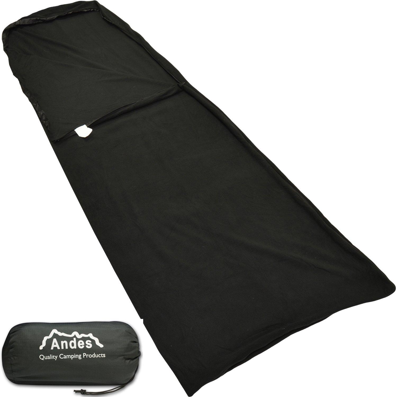 Andes - Doublure pour sac de couchage - pour camping - microfibres polaires