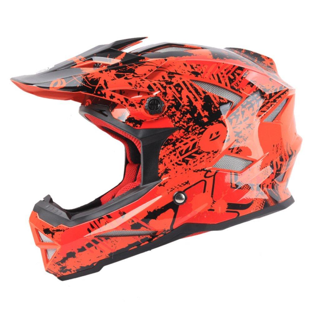 AEMAX, Kinderfahrrad-Langlaufhelm, BMX-Helm, Downhill-Helm, Ausdauerhelm - Mit Sonnenblende, S-XL,E-L=59-60cm
