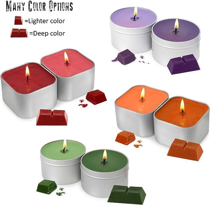 Kit completo para hacer velas – Crear velas de soja perfumadas ...