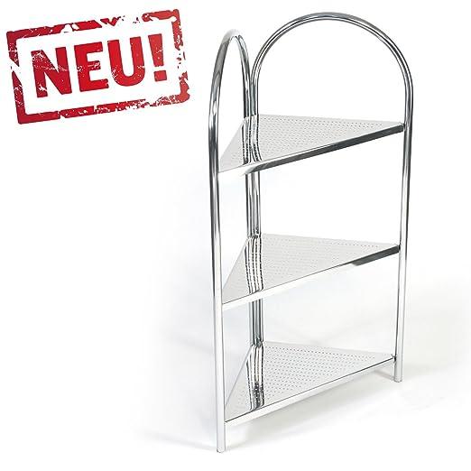 modernes Eck Badregal Küchenregal Badezimmer Eckregal Standregal mit ...