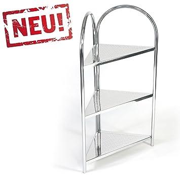 Modernes Eck Badregal Kuchenregal Badezimmer Eckregal Standregal Mit