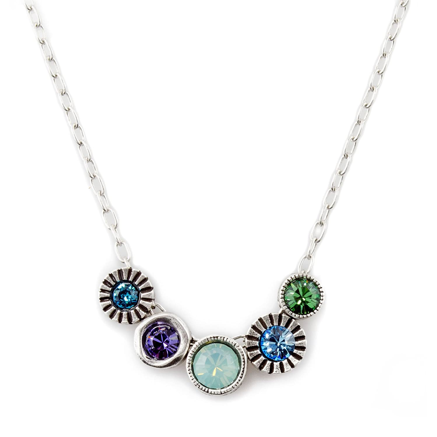wholesale Patricia Locke Pennies from Heaven Necklace in Silver, Waterlily supplies