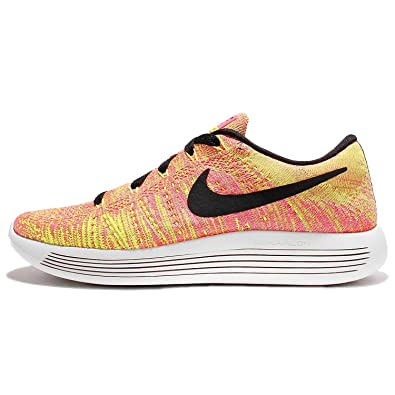Nike Women's Lunarepic Low Flyknit Running Shoes, Multi-color/Multi-color,