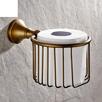 Bad Accessoires Alle Kupferrollen Korb Toilettenpapierhalter
