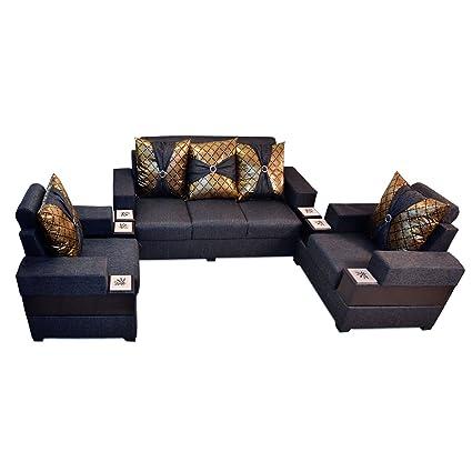 Pharneechar\'s 5 Seater Most Affordable Sofa Set, 3+2 Sofa ...