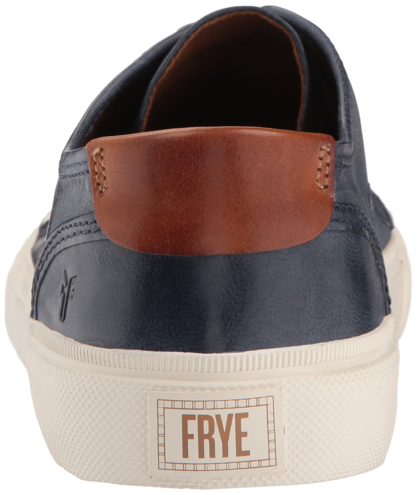 FRYE Men's Ludlow Cap Lowlace Sneaker, Navy, 11 Medium US by FRYE (Image #2)