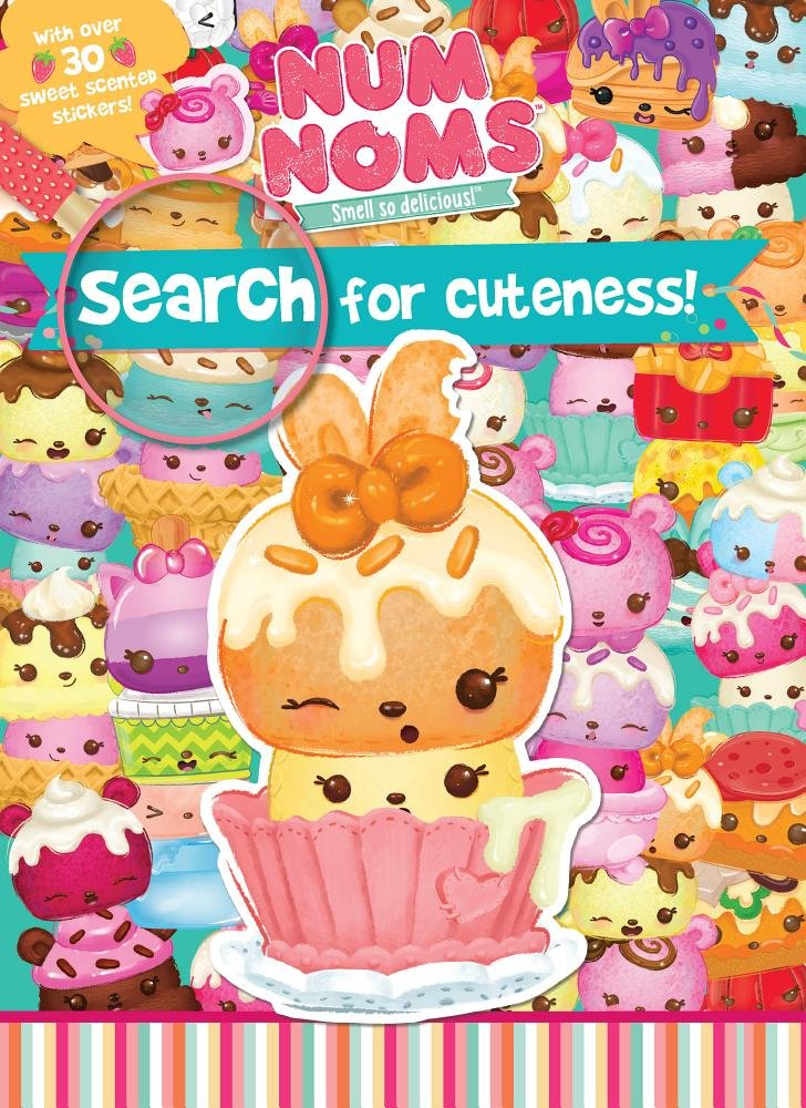 Download Num Noms Search for Cuteness!: With over 30 Sweet Scented Stickers! ebook