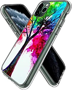 YueNew Personalized Tree of Life Case for iPhone 11 Pro Max Phone Cover Clear Silicone Protective Case for iPhone 11 Pro Max (Tree of Life)