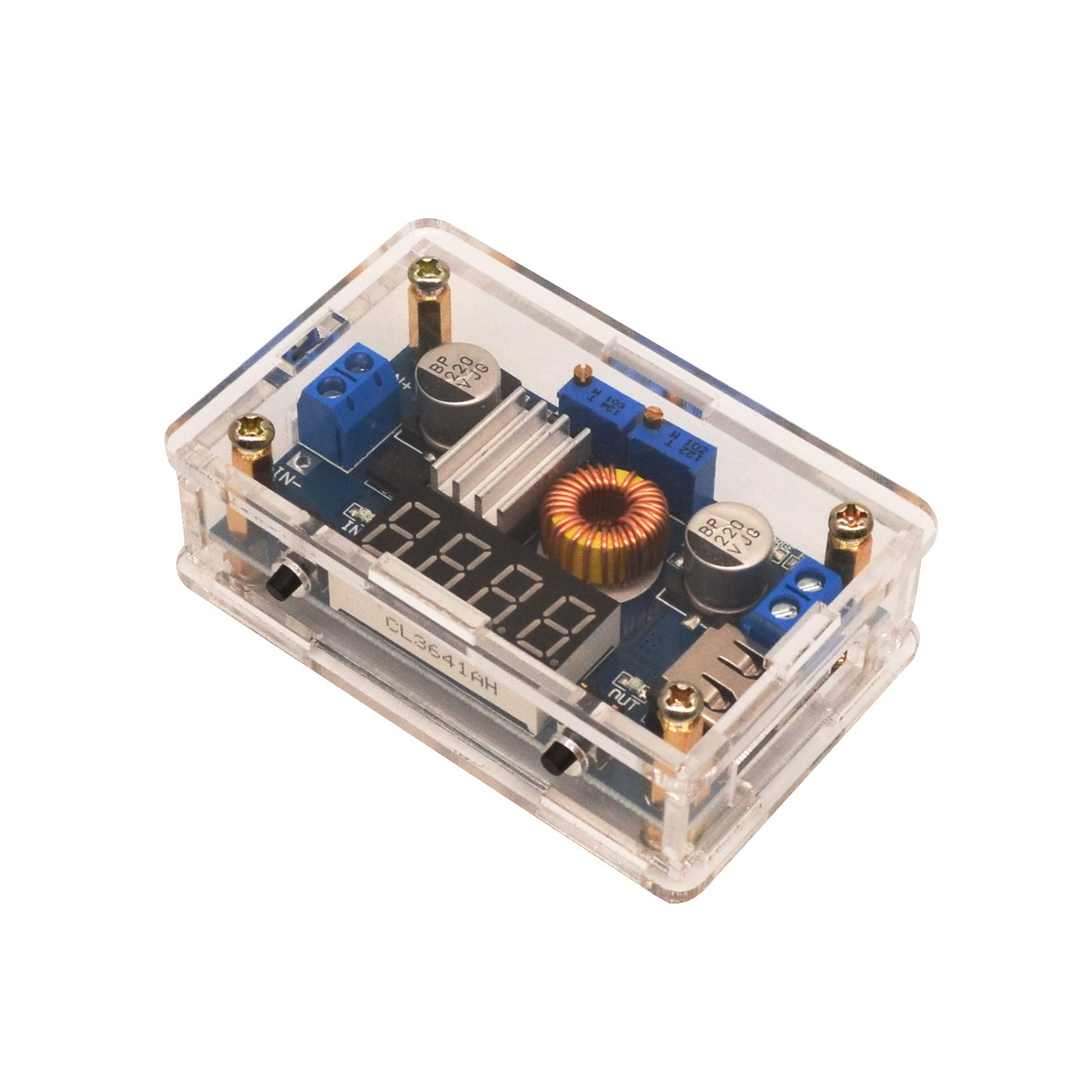 Buck Converter Dc To Input 5 36v Output 125 32v Step Lm317 Automatic Low Cost Emergency Light Circuit Book Free Down Regulator 5a 75w High Power Led Cc Cv Driver Board Battery Charger For Solar