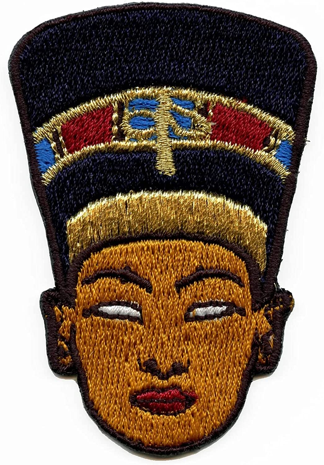 Queen Nefertiti Patch  Fashion  Gift for Her  Gift for Him  Accessories  Iron On Patch