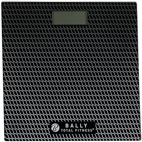 Amazon.com: Bally Total Fitness BLS-7302 BLK Digital Bathroom ...