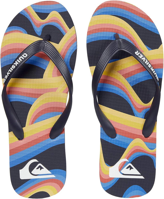 Quiksilver Men's Molokai Art Flip-Flop: Shoes