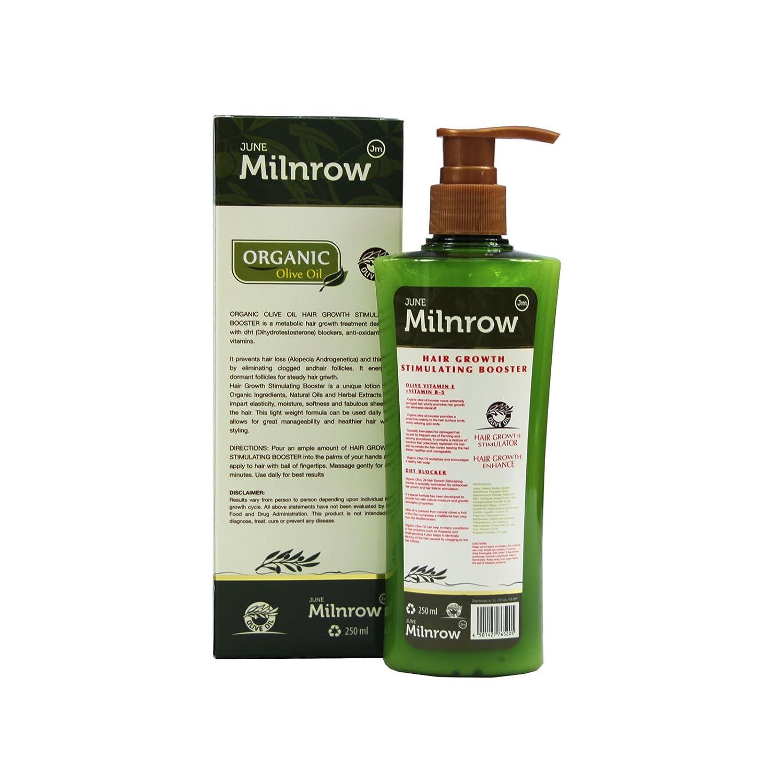 Orgánica pelo Energizer con aceite de oliva pelo growth estimulante Booster 250 ml: Amazon.es: Belleza