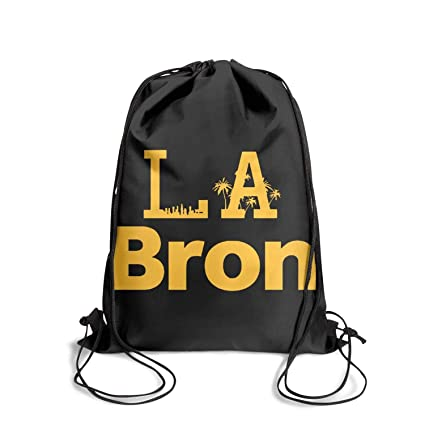 8ded54a312de Amazon.com: GUYI3 Bag Waterproof Crazy LABron-California- Drawstring ...