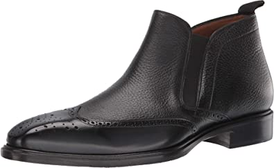 Details about  /Mens Formal Handmade Shoes Dark Brown Leather Toe Boot