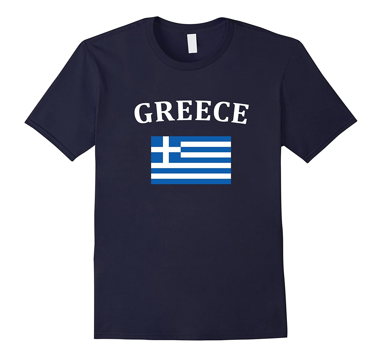 Greece Greek Flag T-shirt Great Gift Shirt