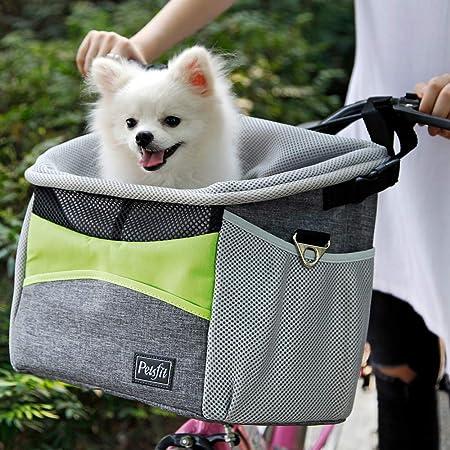 Petsfit Safety Dog Bike Basket for Small Dogs - Best For Ventilation System