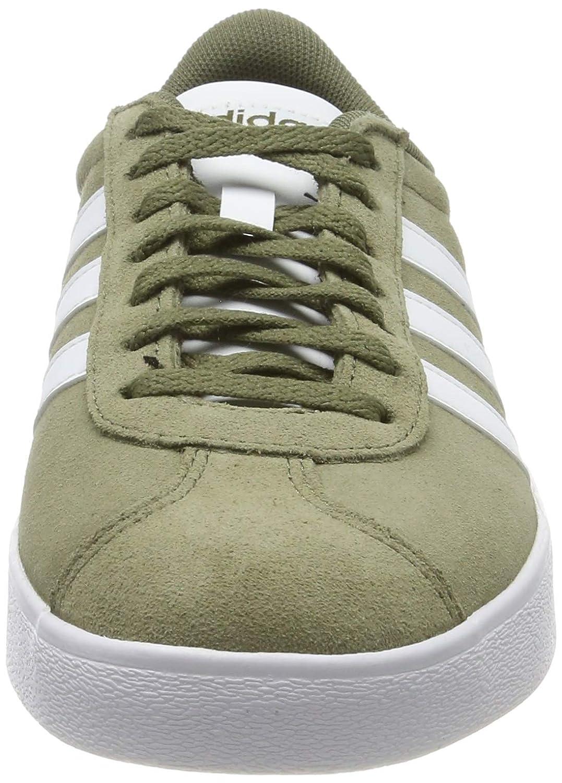 Buena suerte Siete cuscús  Verde adidas Vl Court 2.0 42 2/3 EU Zapatillas de Skateboard para Hombre  Raw Khaki/Ftwr White/Ftwr White Zapatos para hombre Aire libre y deporte