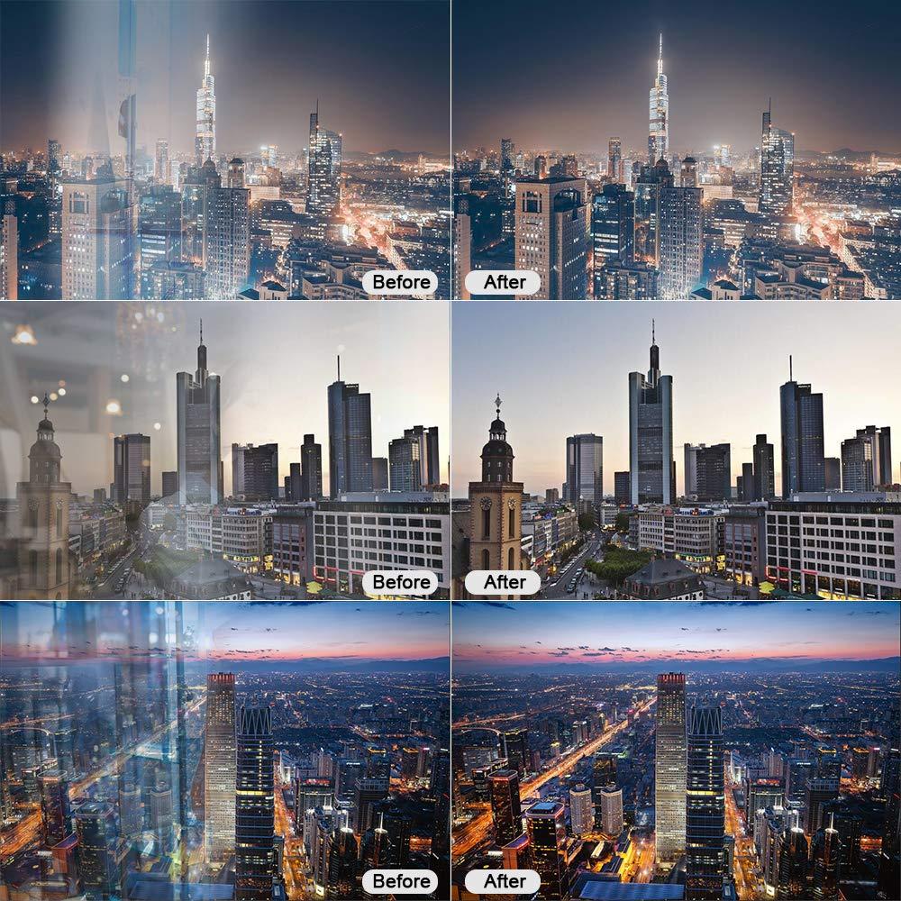 RONSHIN Lens Hood for Nikon Canon Sony Camera Lens Take Reflection Photos Video Silicone Camera Lens Hood Small 35mm