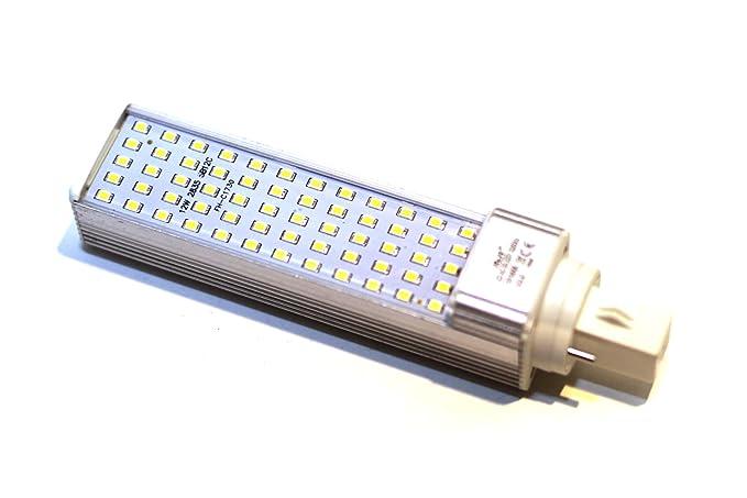 KHEBANG Bombilla LED G24 2 Pins Lámpara Máiz LED 12W Luz Blanco Fría 6500K 60SMD