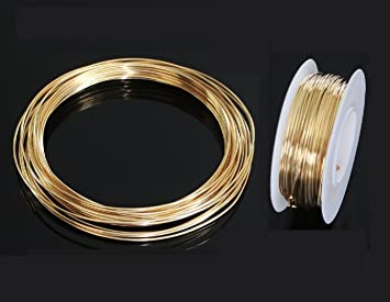 16 Ga Solid Red Brass Soft Round Wire 3 Oz Coil Jewelers Brass 27 Ft