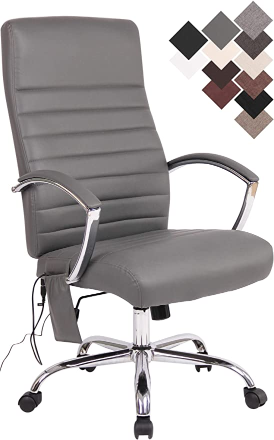 Bürostuhl Valais Kunstleder Design Drehstuhl höhenverstellbar Chefsessel Leder