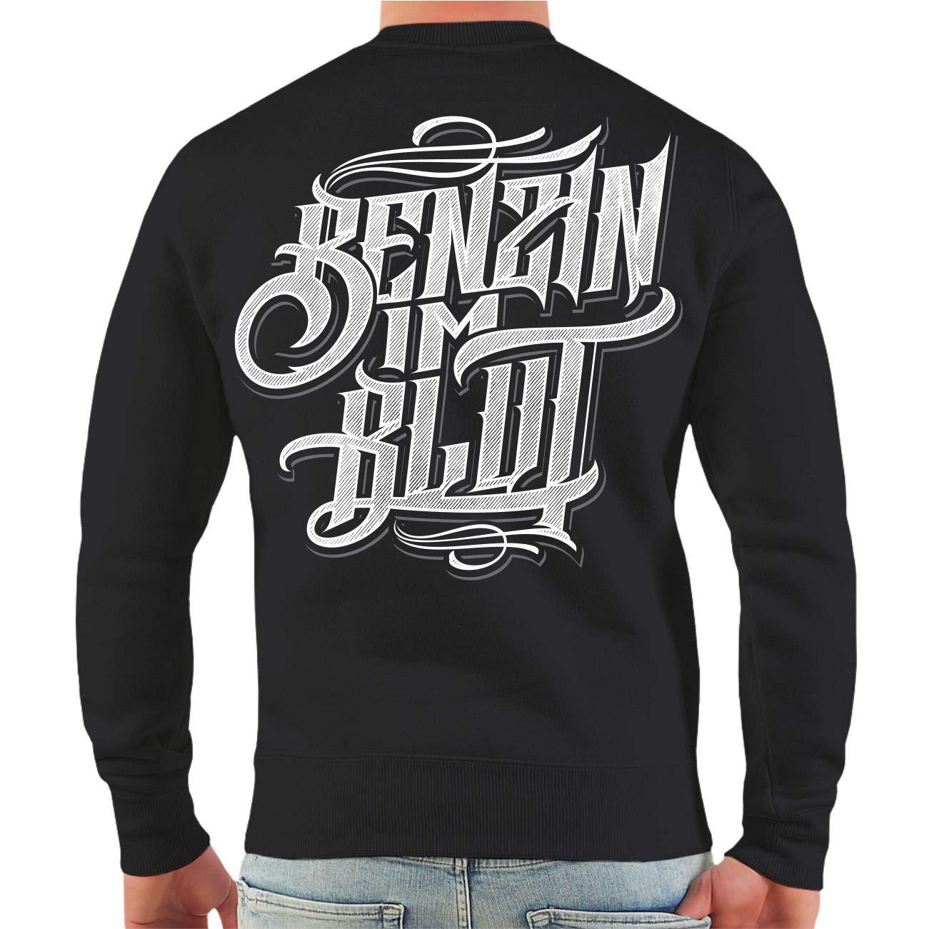 Spaß kostet Männer und Herren Pullover Pullover Pullover Biker Stahl verbindet Benzin im Blaut (mit Rückendruck) Größe S - 10XL B07JVFXX5S Sweatshirts Abrechnungspreis 5631fd