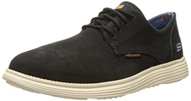Skechers USA Men's Status Borges Oxford,Black,7 ...