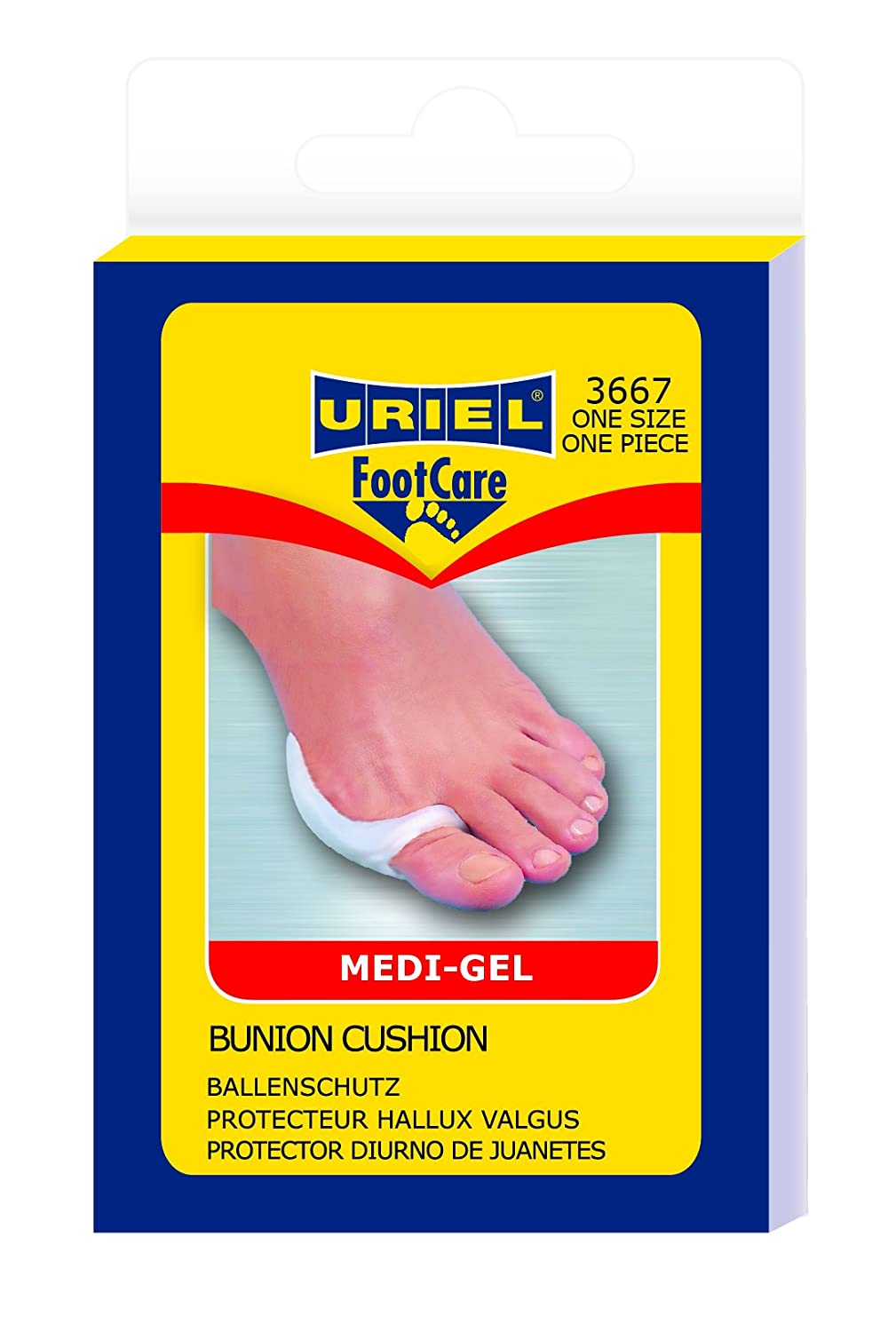 Amazon.com: Uriel Meditex Silicone Bunion Cushion: Health & Personal Care