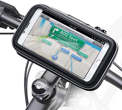 iKross - Soporte con Montura y Funda de Bicicleta protectiva e ...
