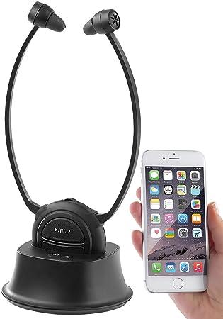 Newgen Medicals – Amplificador de Sonido: TV de Estetofónico de Auriculares & Audífono con Bluetooth