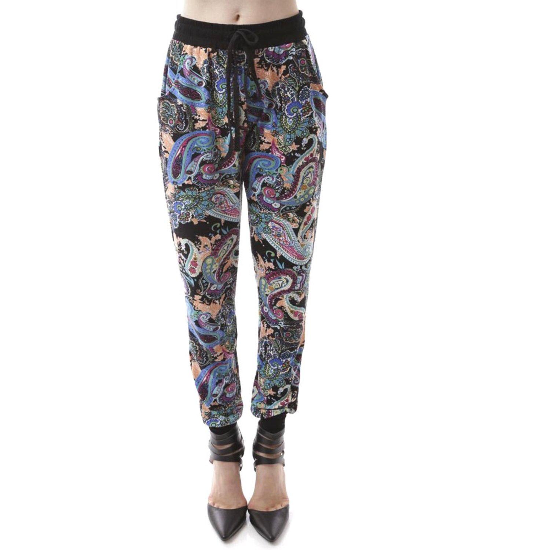 SoHo Paisley Print Jogger Pants
