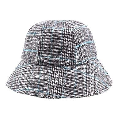 Gorros Señoras Y Hombres Sombrero De Sol De Tela Escocesa Fácil De ...