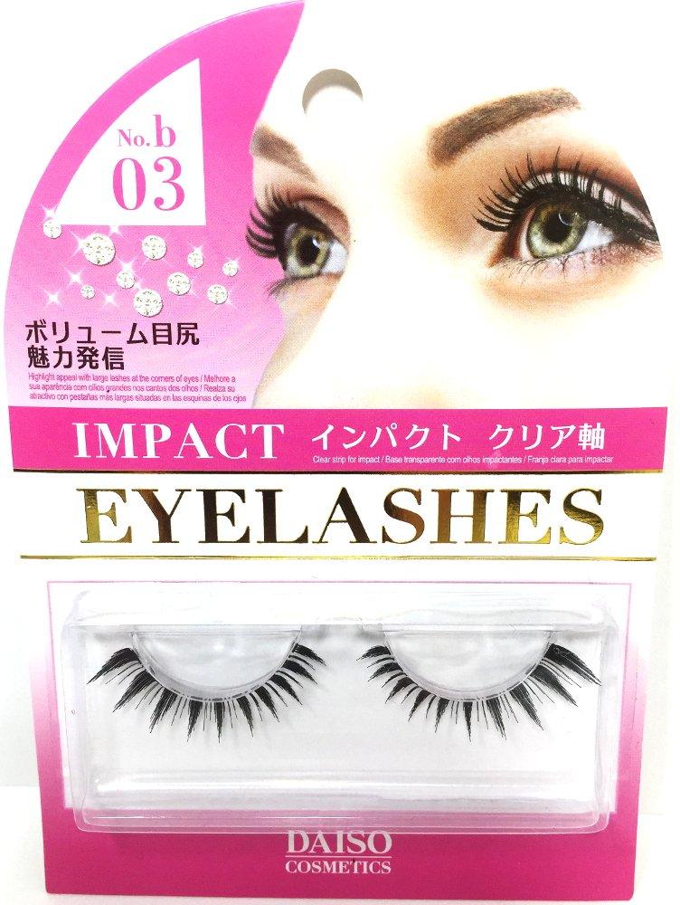 Amazon Daiso Japan False Eyelashes Style Nob03 Lots Of